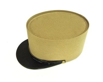 French Foreign Legion Khaki Kepi Cap Authentic Vintage