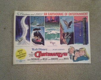 Walt Disney present's Jules Verne's  In Search of The Castaways     1963  Hayley Mills