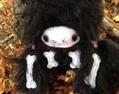 Halloween Cat Bat Skeleton Doll