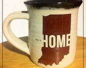 United State of Indiana Coffee Mugs