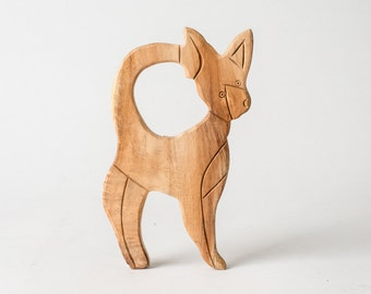 Wood Baby Toy- Chihuahua
