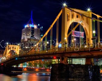 Pittsburgh Skyline Photograph