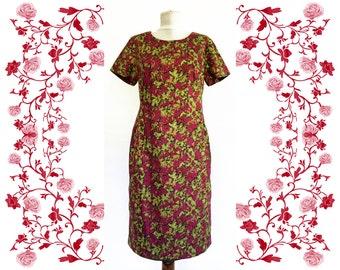 1950's Vintage Deadstock NOS Cotton Dress