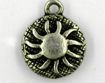 Vintage sun charm