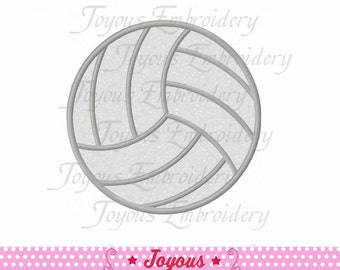 Instant Download Volleyball Applique Embroidery Design NO:1559