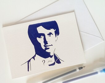 Peter Davidson, Dr Who Card