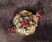 Ornate vintage pin
