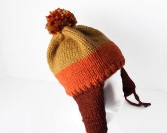 Firefly Jayne Earflap Hat Hand Knit Acrylic-Wool Yarn Comic-con Geeky Most Authentic