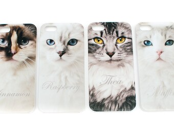 Ragdoll cat mobile case for iPhone 5/5s *MUFFIN*