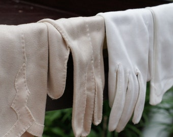 Two pairs of 50s gloves
