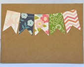 Bunting Flag Cards