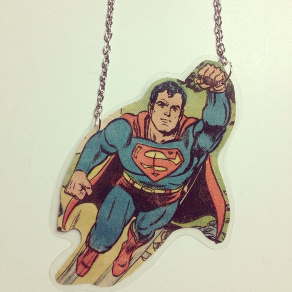 Comic necklace