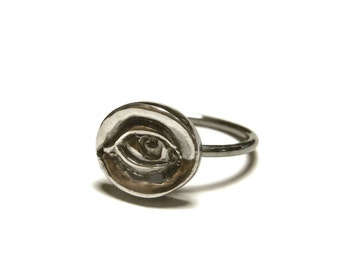 Not So Evil Eye Ring - 925 sterling silver