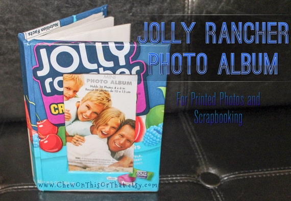 Upcycled Repurposed Jolly Rancher Candy Mini By