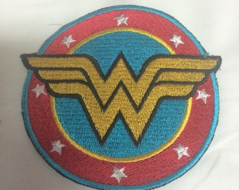 Wonder Woman Iron on or sew on Patch
