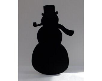Snowman Blackboard / Chalkboard