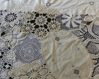 Handmade OOAK Lace Table Cover