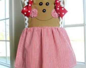 Gingerbread Apron (Handmade)