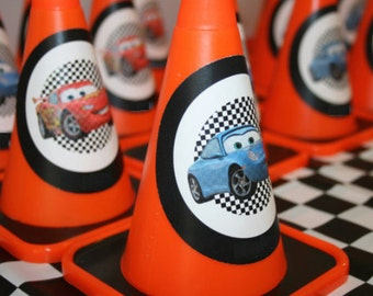 Disney Cars Circular Characters Birthday Signs Mater & McQueen - INSTANT DOWNLOAD