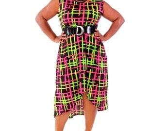 Women's Plus Size  Hi/Lo Dress