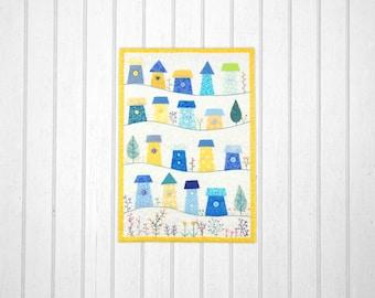 Spring Valley Miniature Quilt Pattern