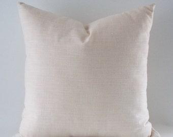 Natural Linen Pillow, Cushion Linen Cover,  Decorative Throw Pillow, 16,18,20,22,24,26,28,30 inches
