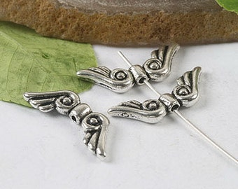 15pcs 2sided wing bead findings (h0247,h0429,h0430,h0432 )