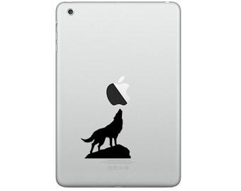 Apple iPad / iPad mini / Decal sticker - Wolf's rain