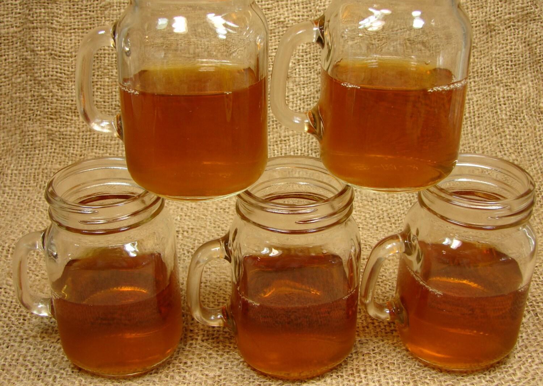 Mason jar mug shot glasses 6 pieces diy mini mason jar mugs - Mason jar goblets ...