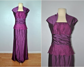 Scott McClintock Vintage Dress, Vintage Formal Dress, Scott McClintock Formal Dress