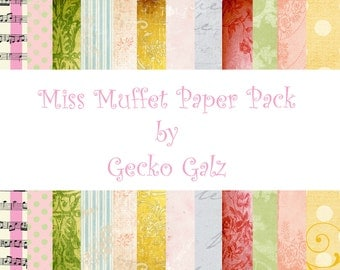 MISS MUFFET Paper Pack