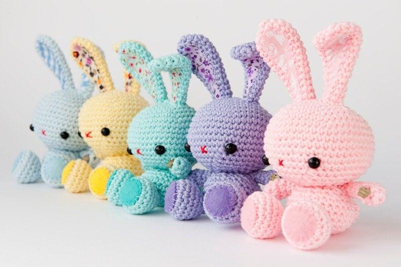 Amigurumi Spring Bunny : Amigurumi Spring Bunny