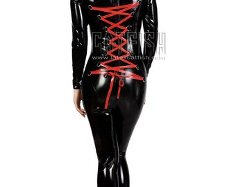 Tight&Sexy Lady Latex Catsuit