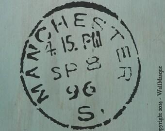 Manchester Stamp Stencil