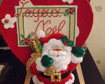 suspension of Noel - heart felt: Joyeux Noel