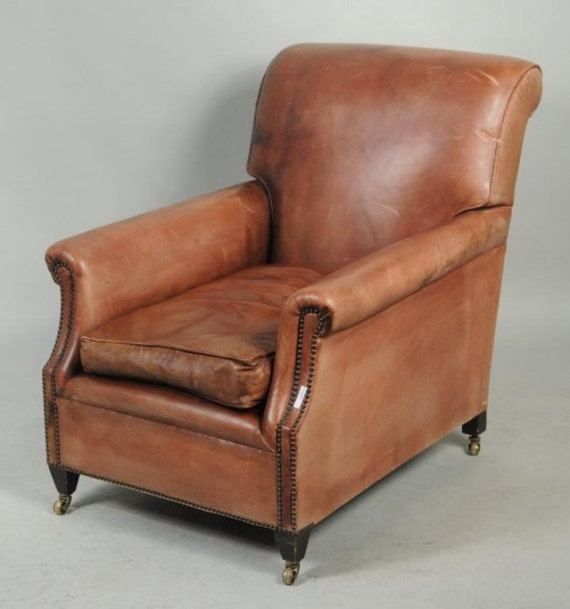 vintage leather club chairs vintage leather club lounge library chair 6840