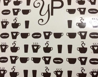 Coffee Lovers Nail Decals - 54