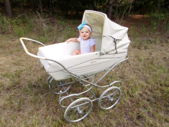 Vintage Baby Stroller Baby Carriage Baby Pram Bassinet