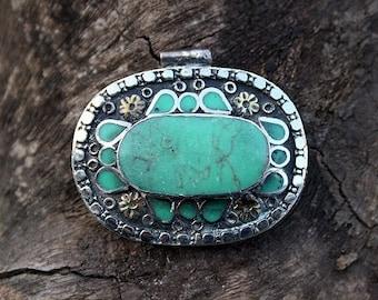 Beautiful handmade Afghan pendant