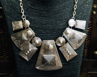 Cool Tribal Necklace Statement Tribal Jewelry