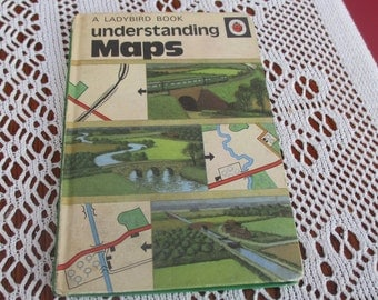 Vintage Lady Bird Book 1967 Understanding MAPS Series 671