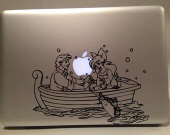 Disney's Little Mermaid: Ariel and Eric Vinyl Decal
