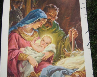29 Vintage Life in Christ Teaching Posters Concordia Publishing Lithograph Prints