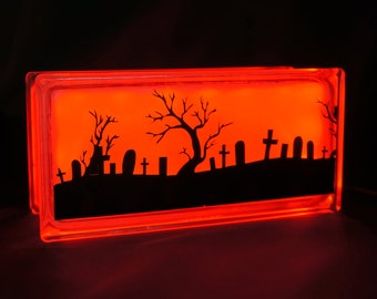 Halloween graveyard light Globlock