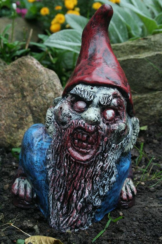 Disemboweled Donny Zombie Gnome