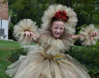 Cowardly Lion Tutu Dress