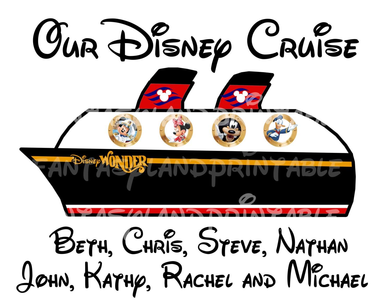 Disney Cruise Ship Personalized Disney Dream Disney Magic