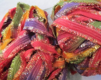 Turkish Decorative Ribbon, Sunset Festival  3 yards for Jewelry Making, Arts and Crafts, scrapbooking