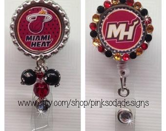 Miami Heat - Retractable ID Badge Holder