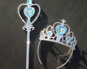 Frozen Wand and Tiara Set